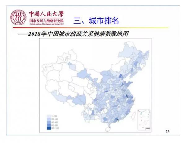 聂辉华:中国城市政商关系评估与企业政商关系策略