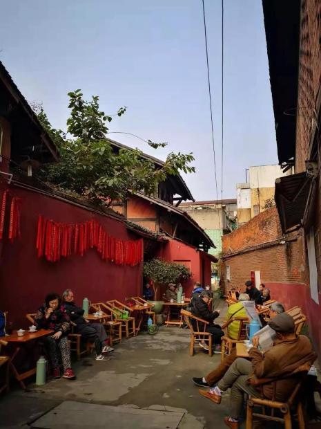 娘娘庙,老成都茶馆最后标本