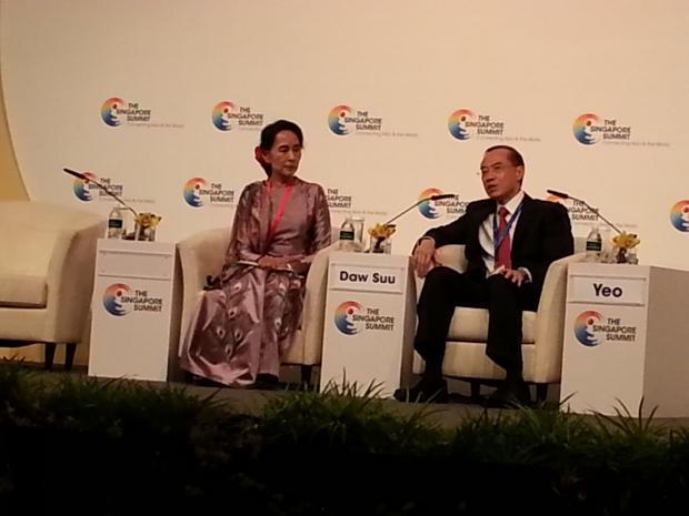胡舒立:六年前在新加坡听昂山素季演讲和答问