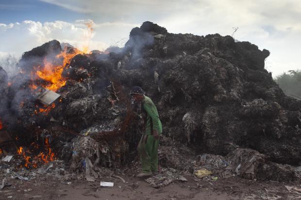 亚洲国家面临处理进口废弃物的难题