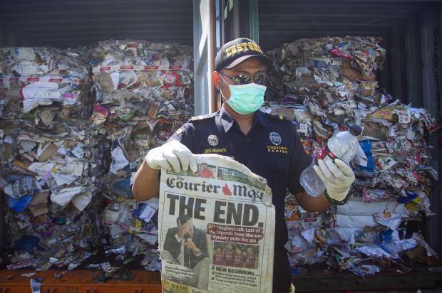 中国的垃圾进口禁令对西方意味着什么