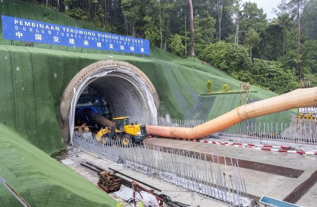 实地探访建设中的马来西亚东海岸铁路