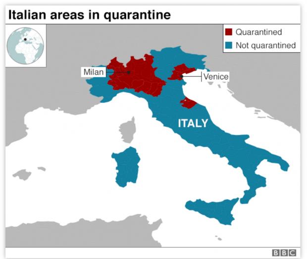 疫情下的意大利至暗时刻!