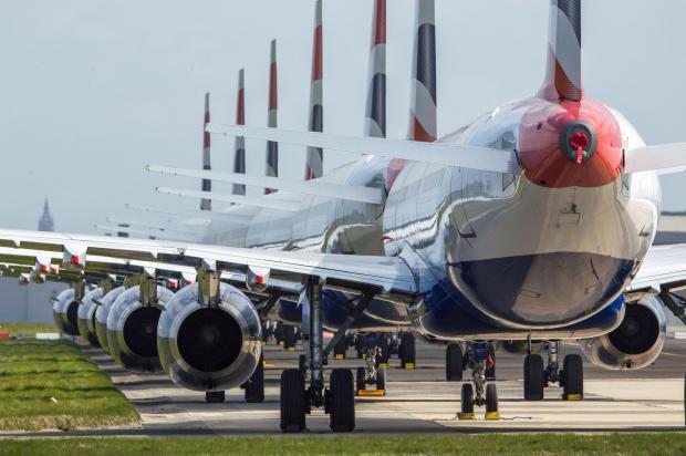 面对新冠疫情,航空公司试图拖延气候措施