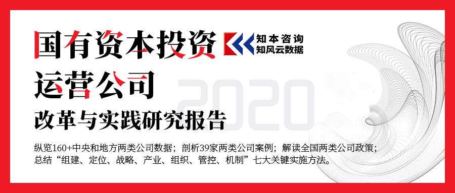 国有资本投资、运营公司改革与实践,研究与动向!2020年度报告发布