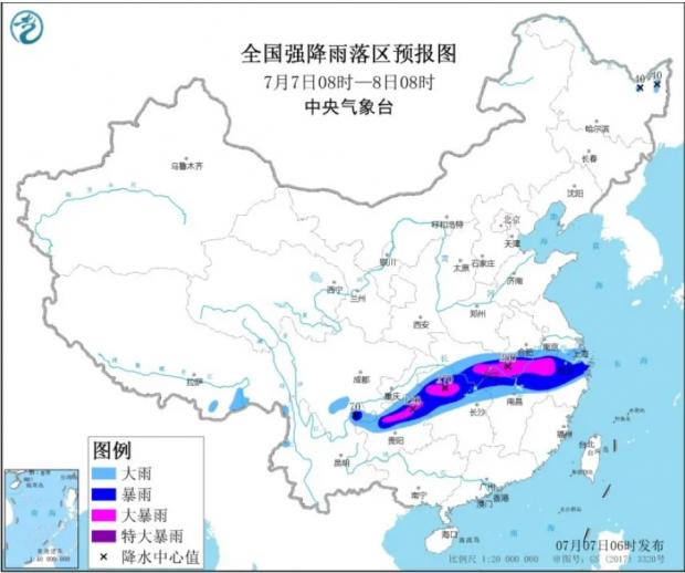 误了高考,淹了上海武汉,洪涝正扑向特大城市!继长江珠江告急后,黄河也悬了