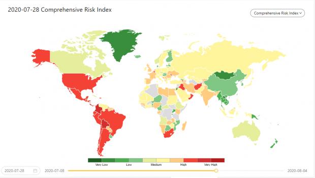 陈剑:全球新冠疫情风险指数研报(一)