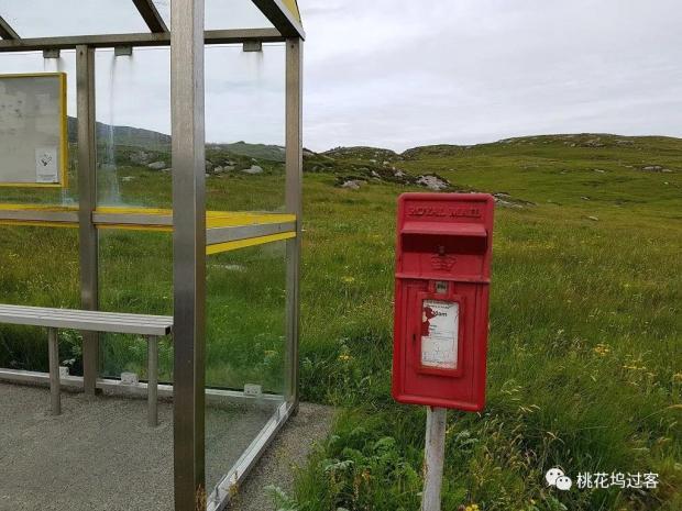周末邮筒 Vatersay, Outer Hebrides, Scotland