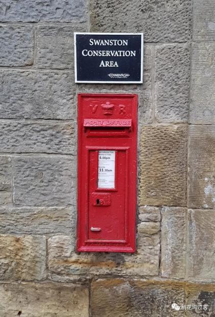 周末邮筒——墙上的邮筒
