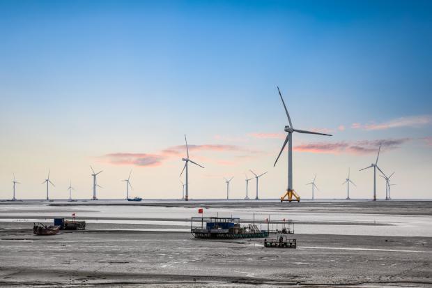 中国海上风电发展迅猛