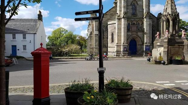 周末邮筒 Falkland, Scotland