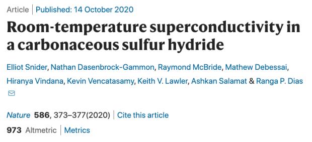 超高压下首次实现室温超导——中国团队理论预言富氢材料