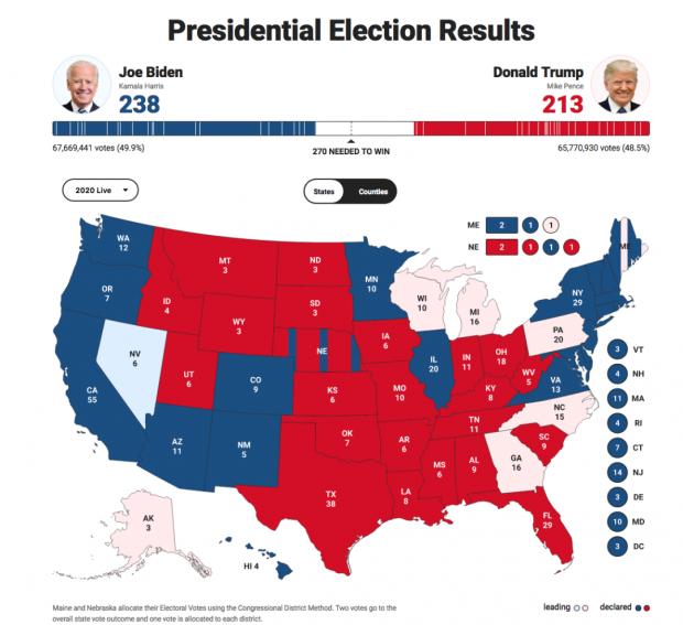 关于美国大选的快评