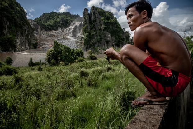 柬埔寨:变成水泥的喀斯特
