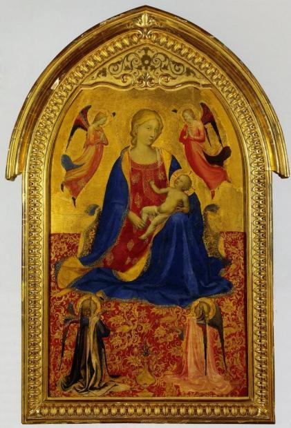 圣僧:一位受到神启的画家,笔下的人物极具雕塑感