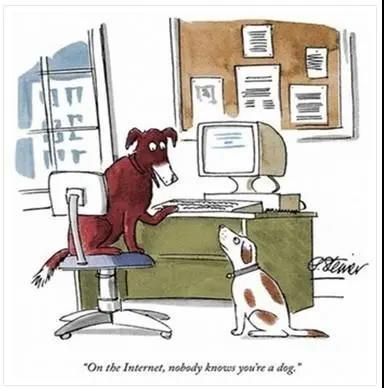 何家弘:如何认定网络上的一条狗?