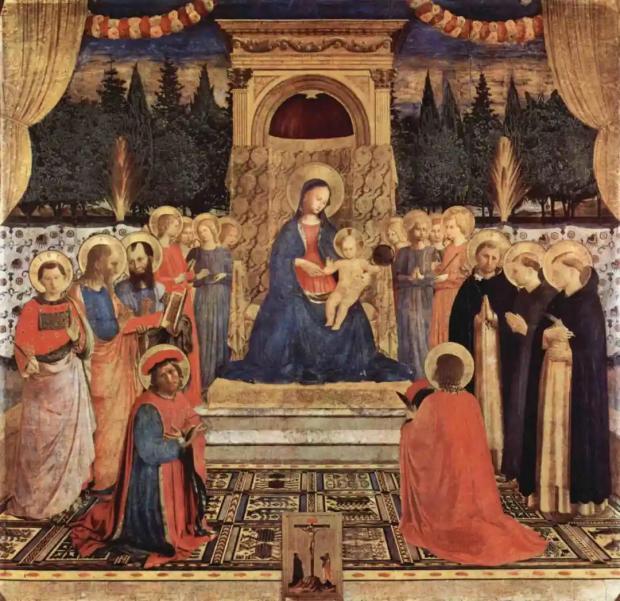 圣僧的优雅画风太独特:影响了达·芬奇,更被拉斐尔发扬光大