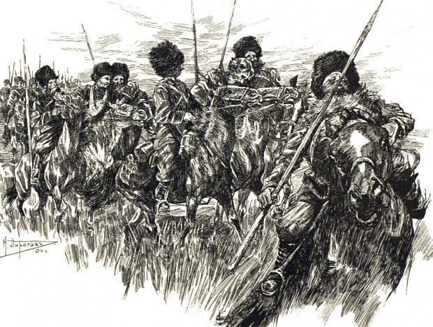 龙熊记之呼玛河围困战