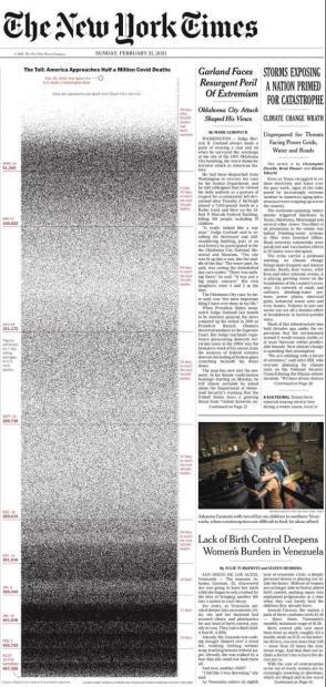 张涛甫:《纽约时报》这个头版创意给媒体转型什么启示