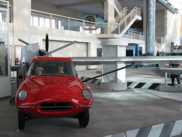 西雅图飞行博物馆Museum of Flight 漫步之一:飞行汽车Aero Car