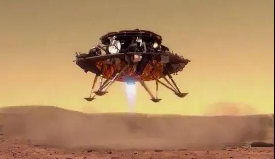 一文拆解中国火星车着陆全程