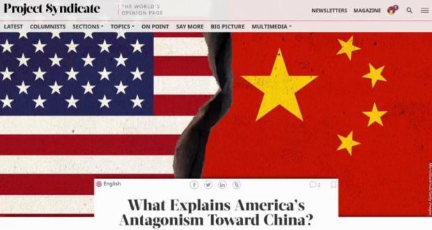 Zhang Jun:What Explains America's Antagonism Toward China?