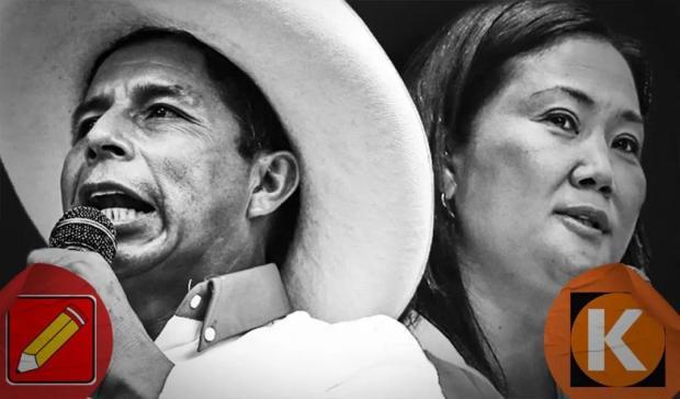 卡斯蒂略VS藤森庆子:选举前7天的民意调查