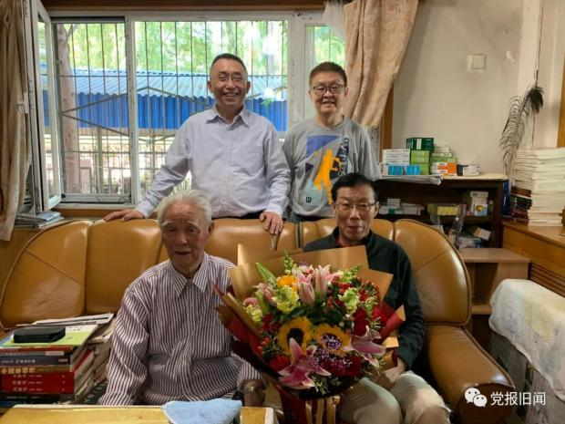 报人陆超褀96岁:仁者寿
