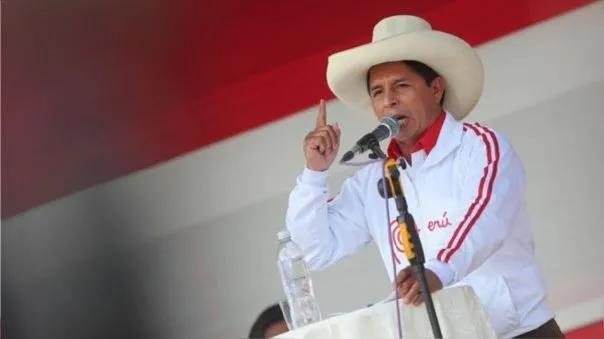 秘鲁总统选举计票工作完成 卡斯蒂略:50.198% 藤森庆子:49.802%
