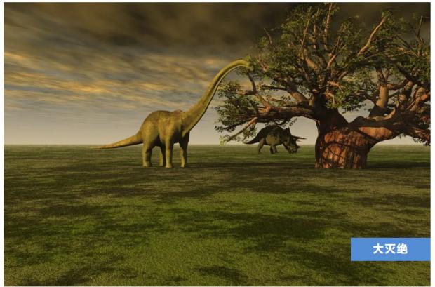 大灭绝来临前,它们朝着不同的地方聚集……