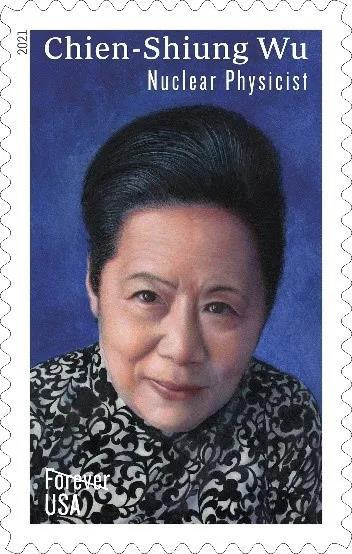 邮票上的吴健雄与镜子中的物理学