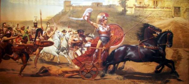 干戈玉帛话当年:史诗中的竞技 │ 左图右史