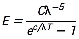 普朗克如何得出黑体辐射定律? 展卷