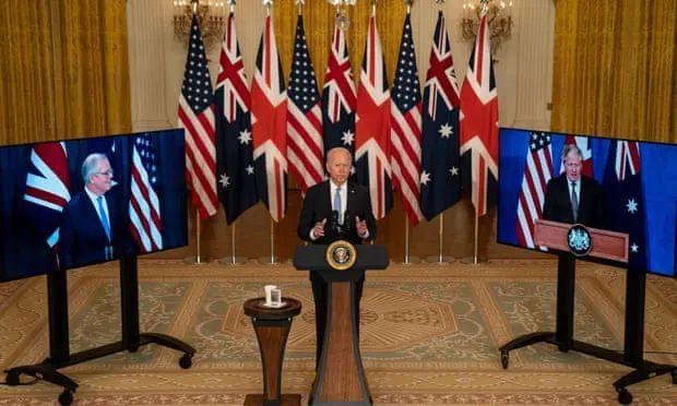 """江天骄:""""印太版北约""""?美英澳核潜艇协议下的微妙盟国关系"""